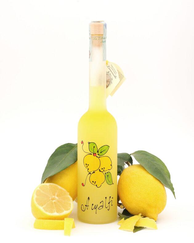 limoncello amalfi special edition decorata