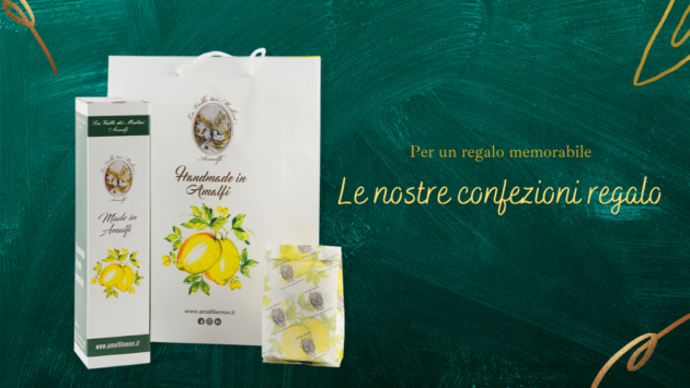 confezione regalo amalfi limoncello costiera pack special edition